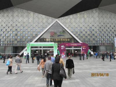 上海の世博跡地・世博展覧館