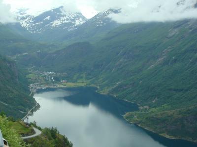 ガイランゲルからオンダルスネスへ・・・・・ノルウェー・フィヨルドの旅