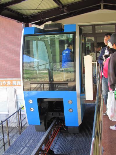 長野新幹線に乗って茶臼山動物園へ4匹の子レッサーパンダ詣(1)プロローグ~本日営業開始のモノレールに乗って北口からアクセス