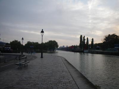 ALC21 宿の周りを散歩2(運河を歩いてみた)