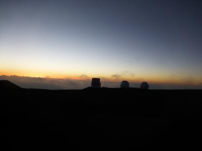 初ハワイです②ハワイ島,4500Mのマウナケア