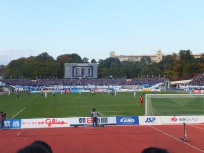 2012 大阪遠征[第2弾]万博記念公園散策とサッカー観戦【その3】試合観戦と十三グルメ