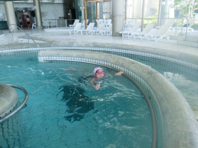 泳ぎまくりの1泊2日