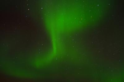 ノルウェー 沿岸急行船でオーロラを見る旅2013.2 ⑬船上から見た感動のオーロラ♪
