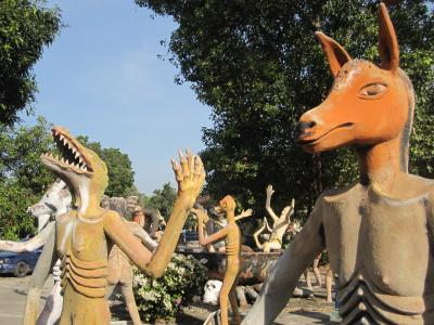 2013 ワット・セーン・スーク タイのビーチリゾートから行ける人気の地獄寺