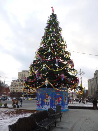 再び冬のロシア へ