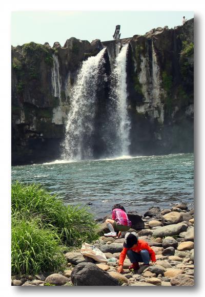Solitary Journey [1193] 大瀑布'原尻の滝'&日本一の大きさ'普光寺磨崖仏'<GW九州一周、4泊5日車旅>大分県豊後大野市
