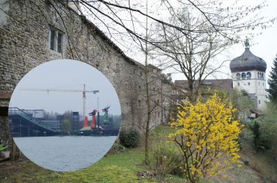 3カ国が接するボーデン湖の町ブリゲンツ