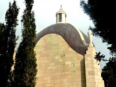 第1部イスラエル周遊旅情第2章エルサレム探訪32オリーブ山のイエスその1主泣きたもう教会