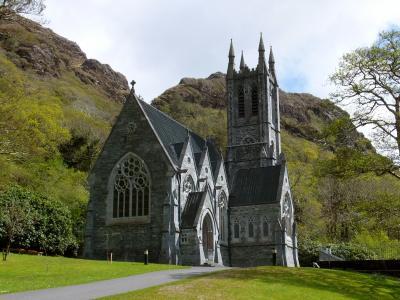 6年ぶりのアイルランド:カイルモア修道院~コネマラ国立公園