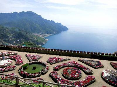 マルタ&南イタリアドライブ旅行-(6)アマルフィ海岸を走る(サレルノ~ソレント)