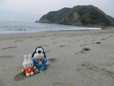 グーちゃん、GWに浜坂へ行く!(静かな海と温泉の街、浜坂編)