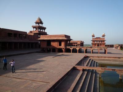 インドで世界遺産巡り! その6 ファテープル・スィークリー観光編