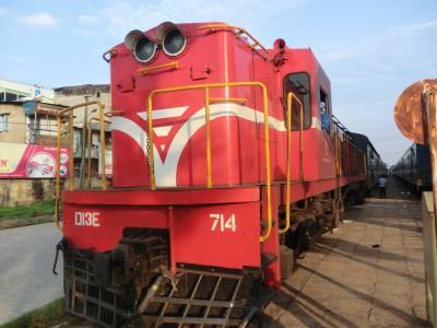 2013年GW ベトナム旅行(3日目)ファンティエットへ移動(列車)