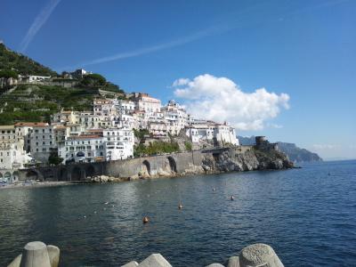 アマルフィ Wedding とハネムーン(イタリア&クロアチア)Vol.1 日本→ナポリ