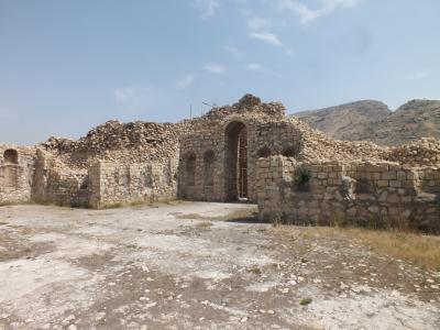 ペルシャの旅 ビシャプールの遺跡編