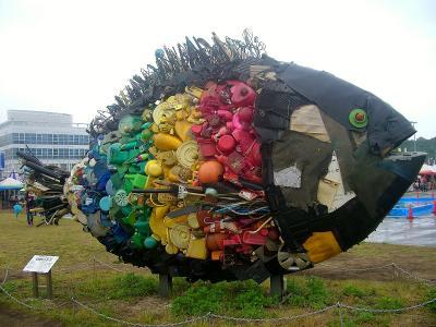 現代アートの祭典♪ 瀬戸内国際芸術祭2013(ART 宇野港) 工事中