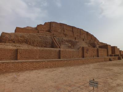 ペルシャの旅 アフワーズ=チョガ・ザンビール(3つのエリアに分かれた宗教都市)