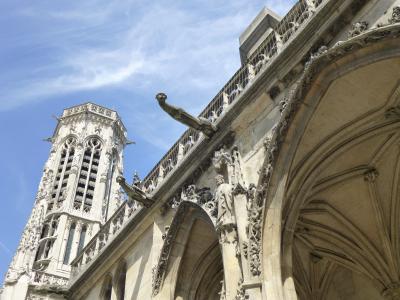 夢の教会建築めぐり in Paris 2 サン・ロック教会~サン・ジェルマン・ロクセロワ教会