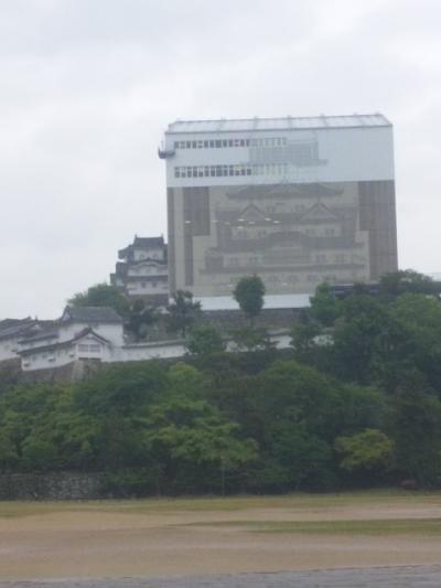 [城]大改修真っ只中の姫路城へ(2013.5.10)