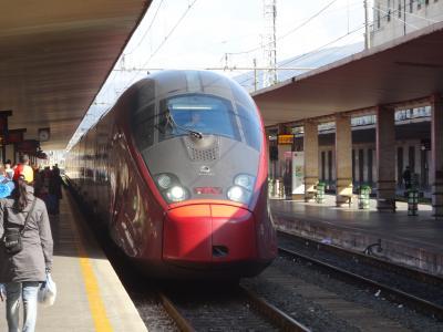 2013年4月 アリタリア航空ビジネスクラスで行くイタリア旅行5日目vol.2(フィレンツェからローマへ最新フェラーリ特急ITALOで移動 編)