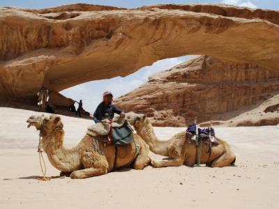 2013GWヨルダン~その3 ワディ・ラム砂漠体験