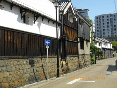 名古屋探訪(その2:四間道と名古屋城)
