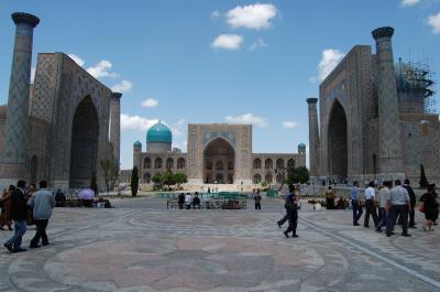 2013GWウズベキスタン旅行 (サマルカンド・シャフリサーブス)