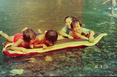 昭和の記憶シリーズ  その16  十津川渓谷でキャンプ