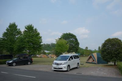 家族で初キャンプ(の、まね事)大子広域公園オートキャンプ場グリンヴィラ