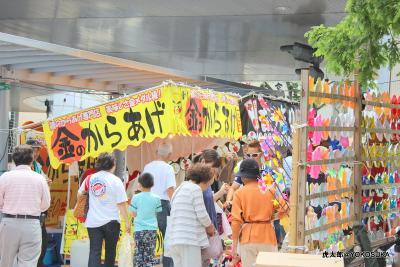 横須賀中央に諏訪神社例大祭を見に行ってきま~す(らーめん萬家)