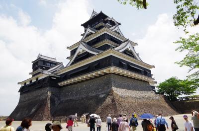 三名城と呼ばれる熊本城へ
