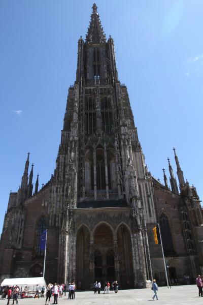 レンタカーで回る ドイツ旅行(その9 ウルム大聖堂)