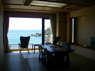 2013GW、海を見て過ごしたい…。♯1京丹後、夕日ヶ浦温泉「静 花扇」
