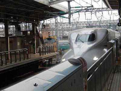 新大阪駅27番線の風景