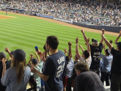 ブルックリンに泊まる初夏のニューヨーク 3日目 <コニーアイランド ~ ヤンキースタジアム>