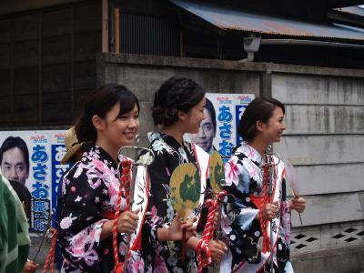 五社神社例大祭-町内渡御1