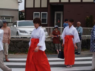 五社神社例大祭-町内渡御2