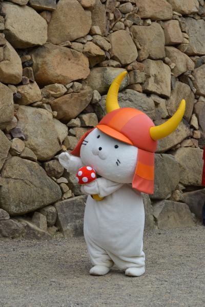 ひこにゃんを見に彦根城へ