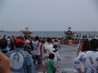 五社神社例大祭-海上渡御
