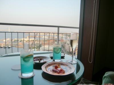 東急ホテル横浜ベイ(旧パンパシフィック横浜ベイ)で週末をまったりと過ごす。