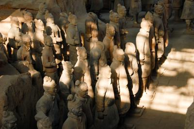 西安の歴史を味わい尽くす4日間 【2】あこがれの兵馬俑坑へ(2008/1/4)