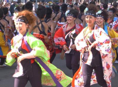 第22回YOSAKOIソーラン祭り(2013年)平岸会場7(平岸天神、平岸天神マスターズ)