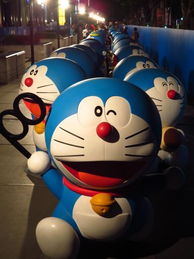 上海★100体のドラえもん!ドラえもんと100の秘密道具展@新天地時尚購物中心