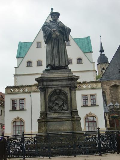 '13年旧東独の町、宗教改革ゆかりの町、そしてチューリンゲン、バイエルンの町巡り6。アイスレーベン。