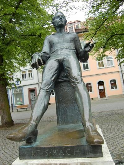 '13年旧東独の町、宗教改革ゆかりの町、そしてチューリンゲン、バイエルンの町巡り13。アルンシュタット。