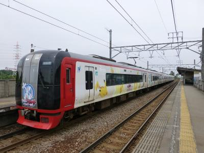 ホケモン電車を狙って熱田~常滑間の駅のホームで撮り鉄