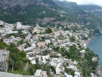 イタリアの見どころを訪ねました⑥ ソレント、ポジターノ、エメラルドの洞窟
