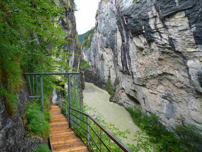 スイスハイキング22日目・マイリンゲン・アーレシュルフト峡谷
