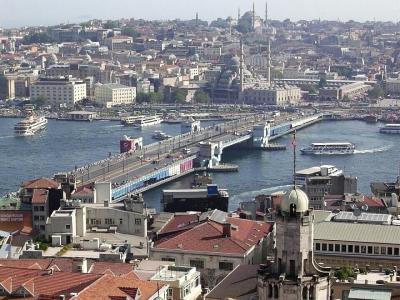 イスタンブール: 4日間でいろいろ,ボスポラス海峡ボートは黒海入口まで
